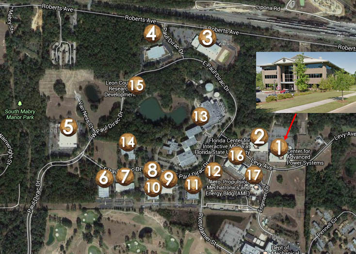 Innovation Park map
