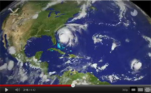Hurricane video screenshot.