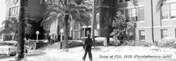 Snow at FSU