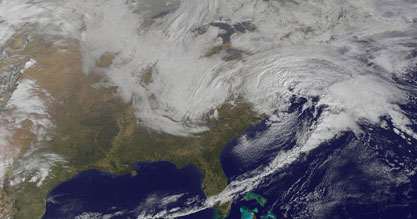 NASA winter storm